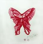 Jane Sampson Provocative Butterlfly