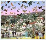 Sir Peter Blake Homage to Damien, Hollywoodland